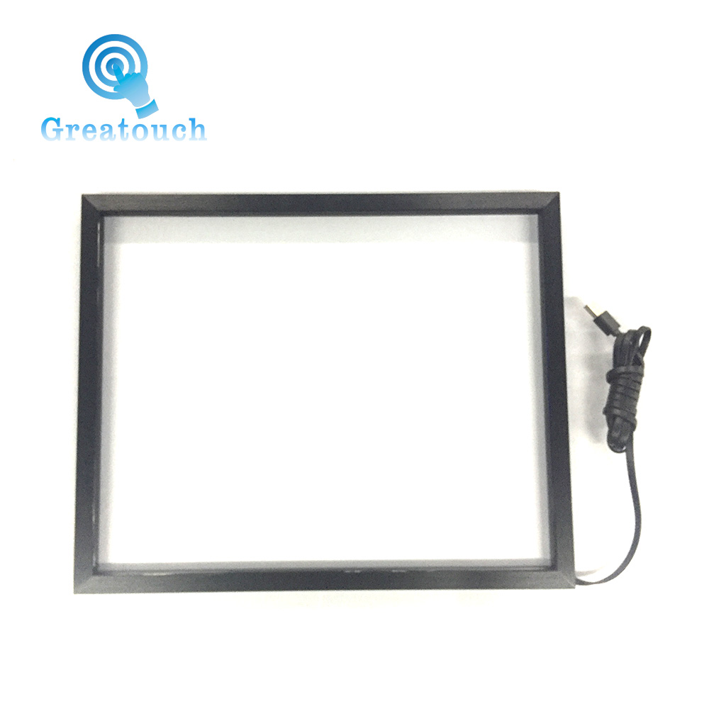 "Made in china USB 24"" Infrared multi touch screen overlay"