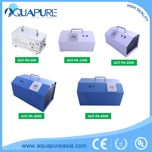 AQUAPURE super1-3G portable ozone generator water purifier