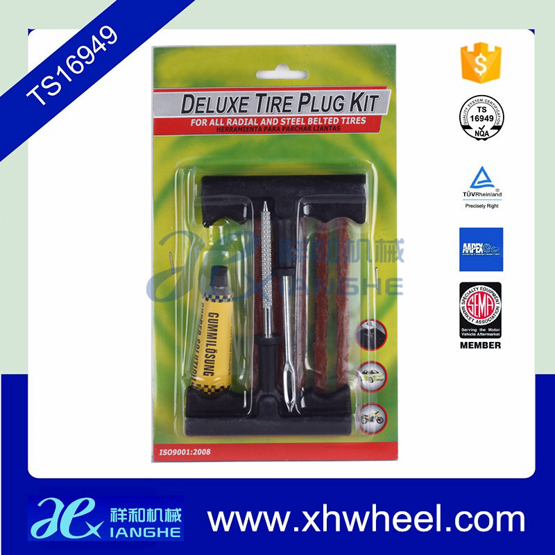 Tubeless Tire Repair Plug Kit Tire Patch Fix Tools Puncture Repair New