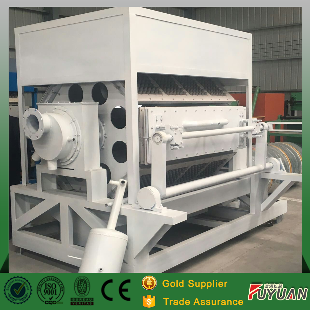 egg carton box forming machine used for paper pulp moulding