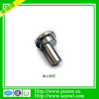 Exported High quality galvanized flat head solid rivet