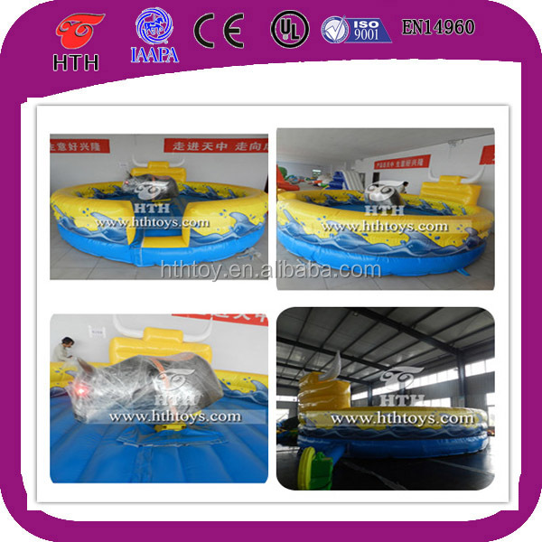 Inflatable bull game inflatable bull fighting game