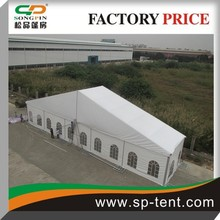 wholesale large fancy marquee party wedding tent 20x40m with white ceiling and curtains