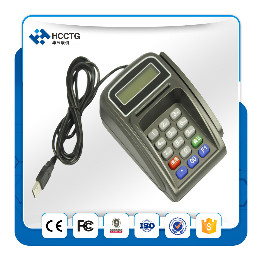 Secure Stand Atm Pin Pad With Contactless Card HCC990