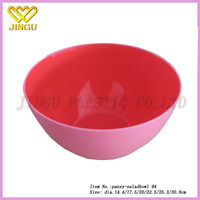 unique wholesale colorful custom wholesale plastic salad mixing bowls