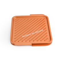 baking tray copper pan non stick copper baking tray Ceramic Nonstick Large Rectangular Double Grill - Copper