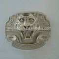 Hot sale fashion metal wholesale R-0434-80 40mm western tiger buckle with high quality