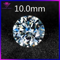aaaaa grade white loose round synthetic cubic zirconia ceylon gems stone wholesale