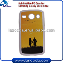 sublimation phone case cover for Samsung Galaxy Core I8262