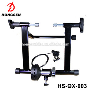 "HS-Q003 Steel Magnetic indoor home bike trainer for 18""-26"" bicycle"
