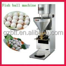 Human resources saving & adjustable meatball forming machine