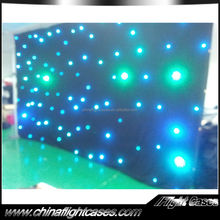 lastest stage performance clothing stage decoration rgb star curtain