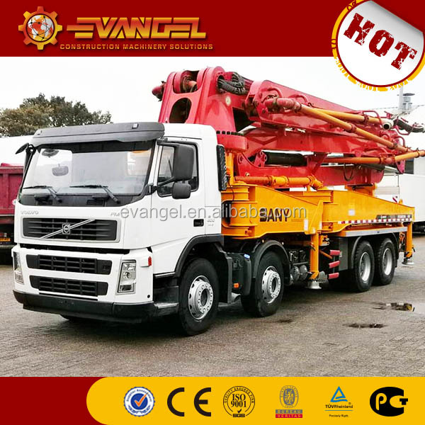 Portable Concrete Pump SANY isuzu concrete pump truck