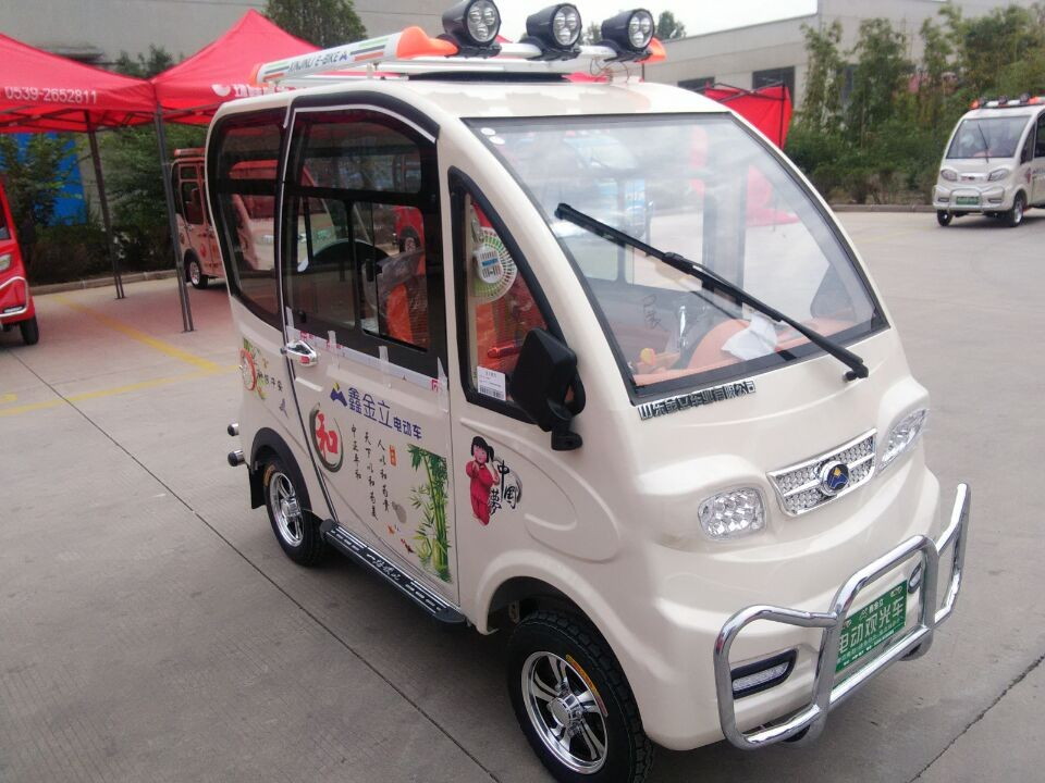 good quality solar street legal utility vehicles with certificates