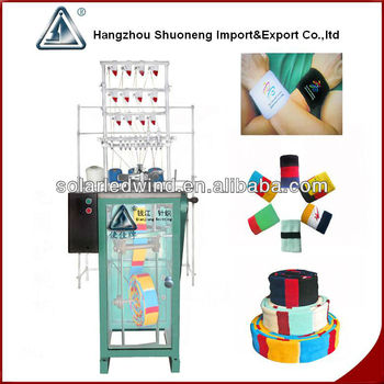 wristband knitting machine