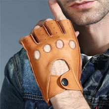 Fashion men motorcycle gloves leather gloves