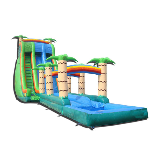 amusement park inflatable water slide/ banzai inflatable water slide