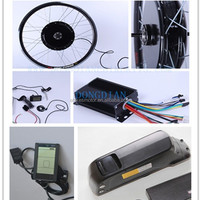 TOP E-cycle 48v 1000w electric bike kit with battery