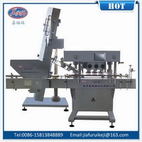 China manufacture top sell small hdpe bottle screw capping machine