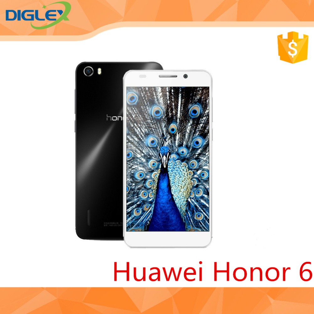 Huawei Honor 6 Kirin 920 Octa Core 1.7GHz 4G FDD LTE 3GB RAM 5Inch FHD 13MP Android 4.4 Dual SIM Mobile Phone In Stock