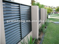 2015 Sun shade louver fixed aluminium louvers