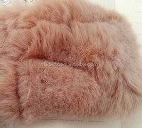 100% polyester fake fur plush fabric for up grade costumes