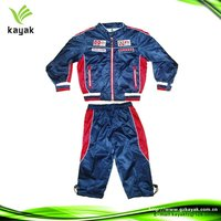 Motorcycle & auto racing wear boy's jackets and trouser