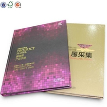 Wholesale Customized Fascinating Food magazine book printing soft cover recipe cook book printing