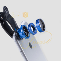 Selfie Fisheye Lens For Iphone 5 6 Se Samsung Galaxy Note 6 S6