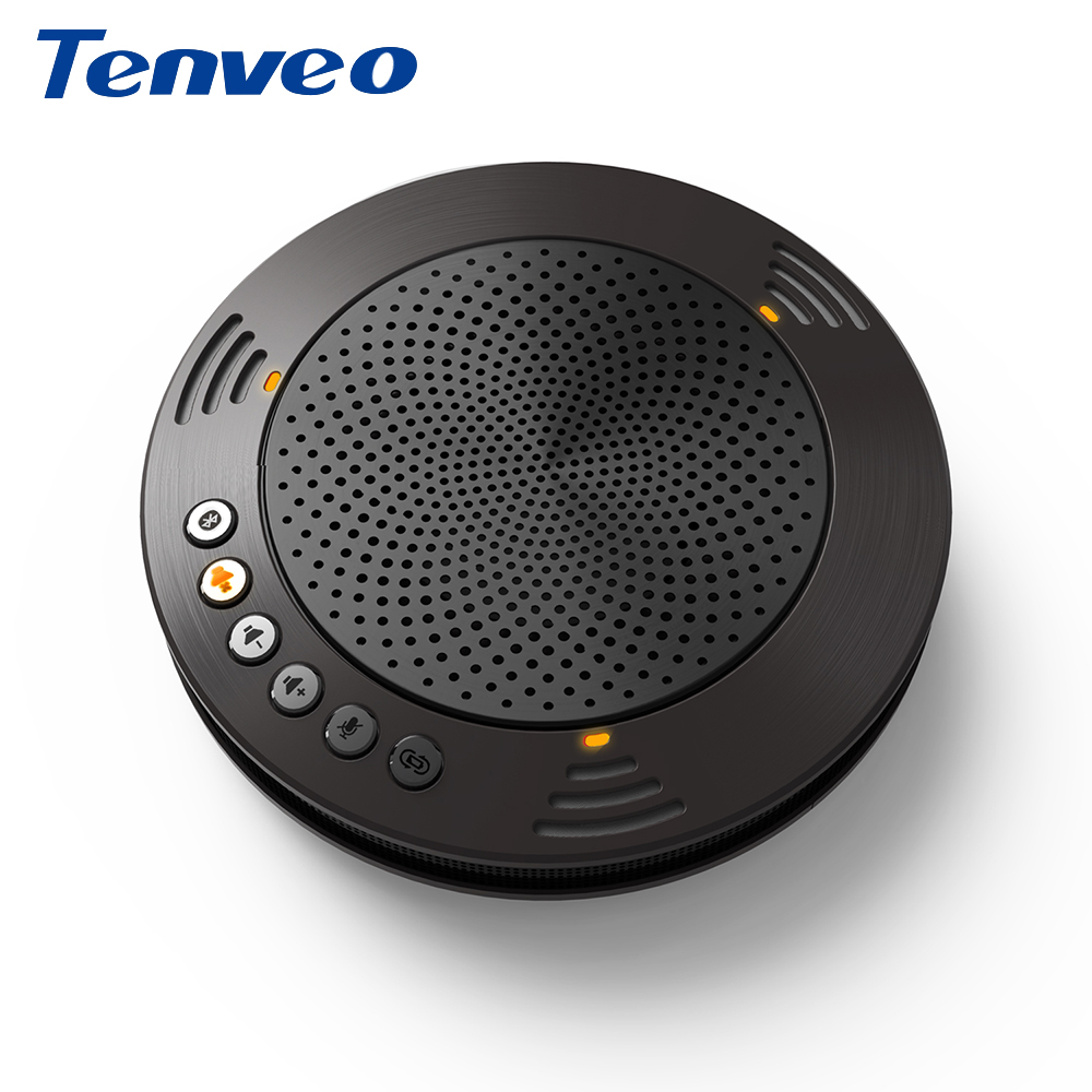Tenveo A100B Bluetooth Professional Conference Audio Speaker Wired USB PC Portable Conference Call Speaker