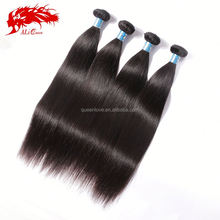 Factory wholesale double weft shedding free unprocessed virgin original peruvian straight hair free shipping