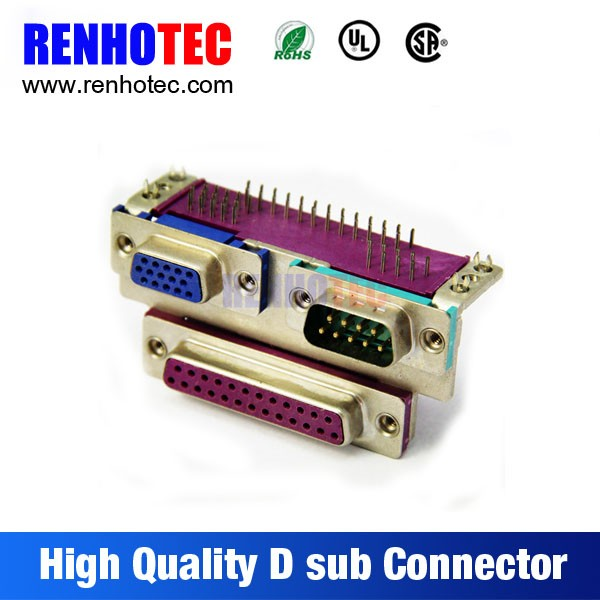 db25 male female breakout board terminal block db25 connector db15 to db25 cable