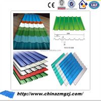 free sample !! color corrugated metal sheet for the roofing panel / pre painted galvanized steel sheet on my alibaba