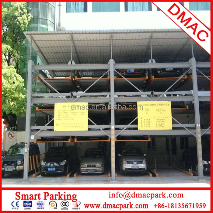 PLC Plane moving series(storage type)cubic parking garage/automatic