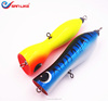 180mm 95g high quality Tuna Fishing lure Solid Wood Gt popper big fish Saltwater Fishing Lure