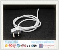 white color 16A 250V 3 pins indian electrical extension plug