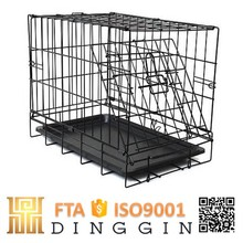 Assembly collapsible puppies dog crate