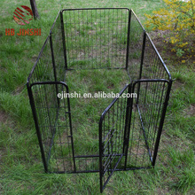 230x115x70cm Panel PlayPen Factory Wholesale 60cm*80cm Black powder coated 8 panDog Puppy Rabbit Cage Run Duck Chicken Enclosure