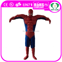 HI CE High quality best price adult spiderman mascot costume