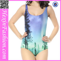 Wholesale Girls Galaxy Printed Pretty One Piece Swimsuit