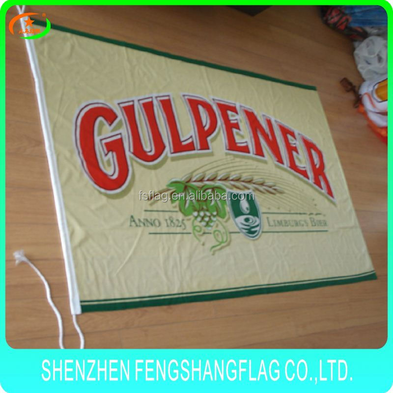 Water resistant best sale advertising flags advertising flag for bus cheap hand flag