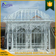 outdoor decorative metal wrought iron gazebos for sale NT-CID007