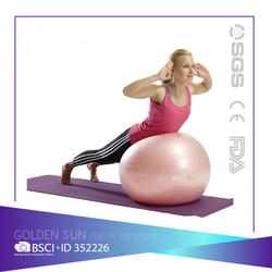 pilates yoga ball/anti burst exercise ball