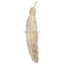 Classical Delicacy Feather Metal Bookmarks