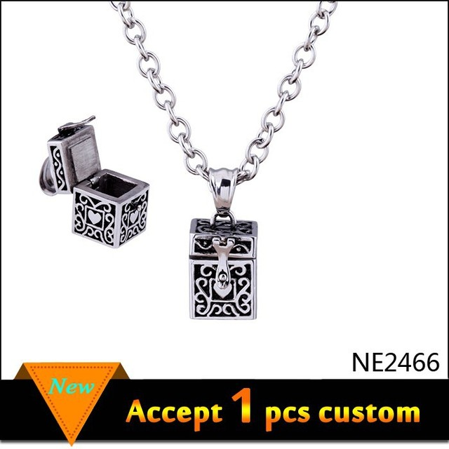 alibaba express jewelry antique silver muslim prayer box necklace