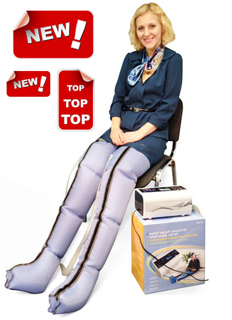Foot spa machine compression foot sleeve