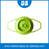 silicone material colorful silicone vegetable steamer with handle, Portable Kitchen Silicone Rubber Vegetable