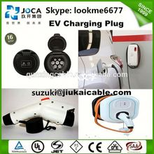 eu electric car charger-ac evse level 2 ev charge/type 2 evse schuko