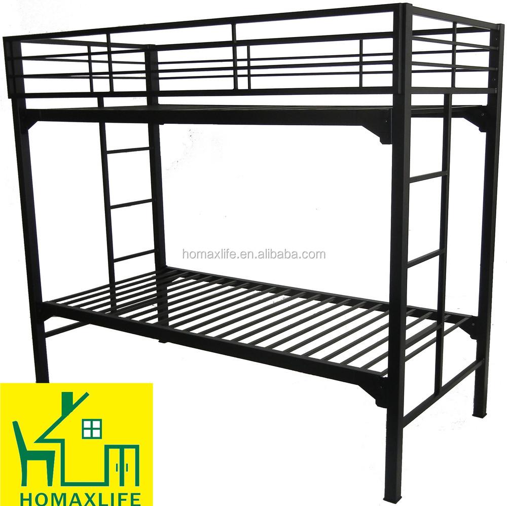 Heavy Duty Loft : Heavy duty metal bunk bed strong for summer camp