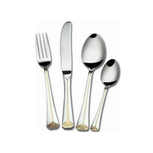 stainless steel cutlery set fork+knife+2 spoons set